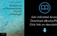 Download-Normativity-and-Phenomenology-in-Husserl-and-Heidegger-P.D.F-attachment