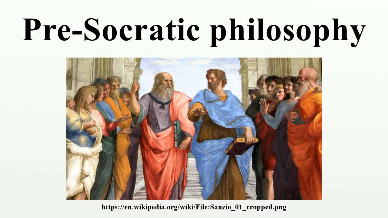 short essay pre-socratic philosopher Pre-socratic is the expression commonly used to describe those greek thinkers who lived and wrote between 600 and 400 bc it was the pre-socratics who attempted to find universal principles which would explain the natural world from its origins to man's place in it.
