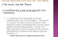 Thomas Aquinas 4 Just War Theory
