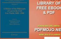 ['#PDF'] The Philosophy of Law: An Encyclopedia