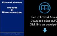 Download-The-Idea-of-Phenomenology-Husserliana-Edmund-Husserl-Collected-Works-P.D.F-attachment