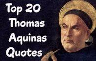 "Top 20 Thomas Aquinas Quotes Author of ""Summa Theologica"""