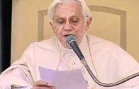 Who was St. Thomas Aquinas?  Benedict XVI explains